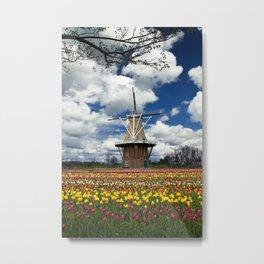 The deZwaan Dutch Windmill on Windmill Island in Holland Michigan No.80 Metal Print
