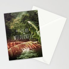 Let's Escape to Wilderness Stationery Cards
