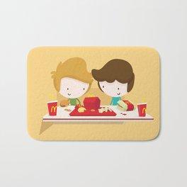 Fast Food Love Bath Mat