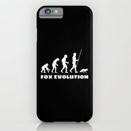 Fox Evolution iPhone Case