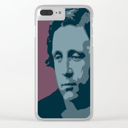 Lewis Carroll Clear iPhone Case