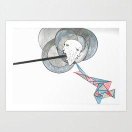 Spew Art Print