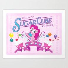 Sugarcube Corner Art Print