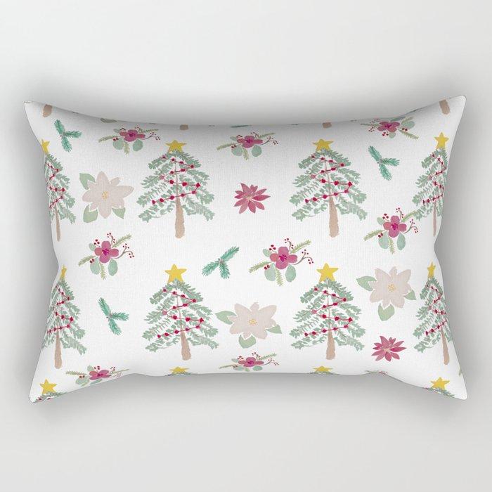 Christmas Pattern Rectangular Pillow