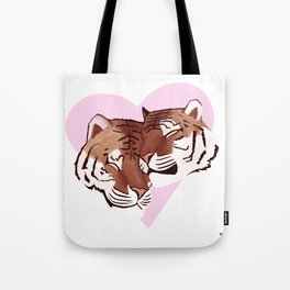Tigers In Love Tote Bag