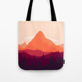 Warm Landscape Tote Bag