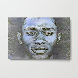 "Yasiin Bey (fka Mos Def)  || ""New World Water"" Metal Print"