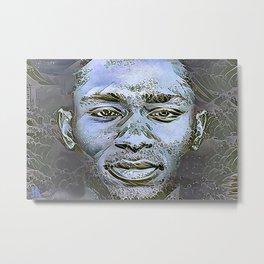 "Yasiin Bey (fka Mos Def)  || ""New World Water"" Metal Print"