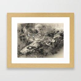 Hawker Tempest Framed Art Print