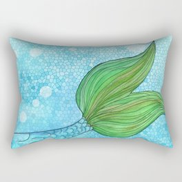 Mysterious Mermaid Rectangular Pillow