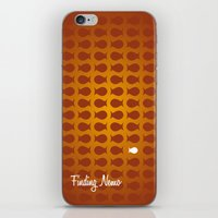 finding nemo iPhone & iPod Skins featuring Finding Nemo by Jason R