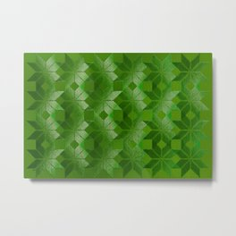 Evergreen, Snowflakes #32 Metal Print