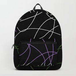 Abstract Threads – Genderqueer Pride Flag Backpack