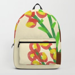 Flower Drawing Backpack