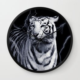 SPIRIT TIGER OF THE WEST Wall Clock