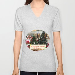 It's Beginning to Cost a Lot Like Christmas Unisex V-Neck
