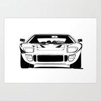 GT40 Art Print