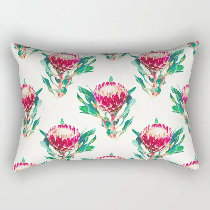 Vintage Protea  Rectangular Pillow