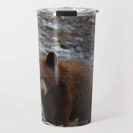 Black bear cub in Jasper National Park | Alberta Travel Mug