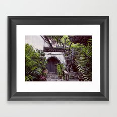 Shanghai Garden Framed Art Print