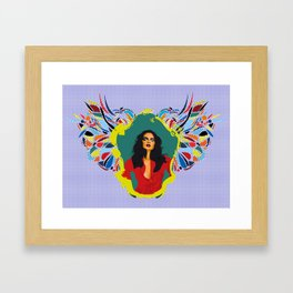 〜 Mirror! My beautiful mirror 2 ! 〜 Framed Art Print