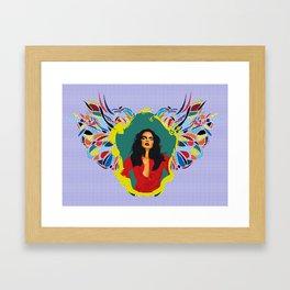 〜 Mirror! My beautiful mirror 2 ! 〜 Framed Art Print