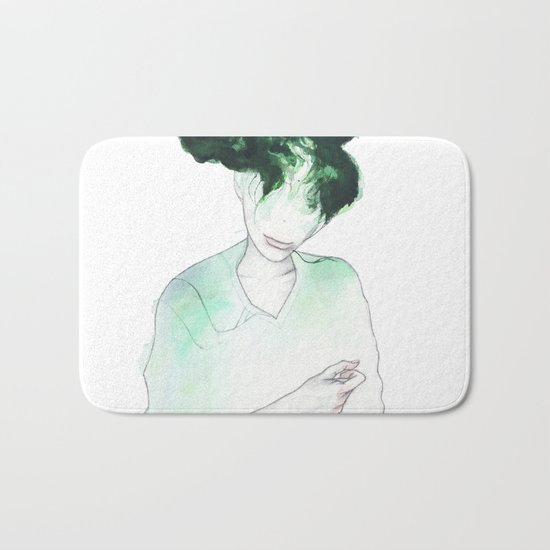 Flaming forests .99 Bath Mat