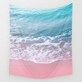 Pink Ocean Beauty Dream #1 #wall #decor #art #society6 Wall Tapestry