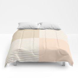 Dash in Tan Comforters