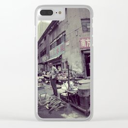 Street Life #2 Clear iPhone Case