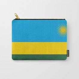 Rwanda Flag Carry-All Pouch