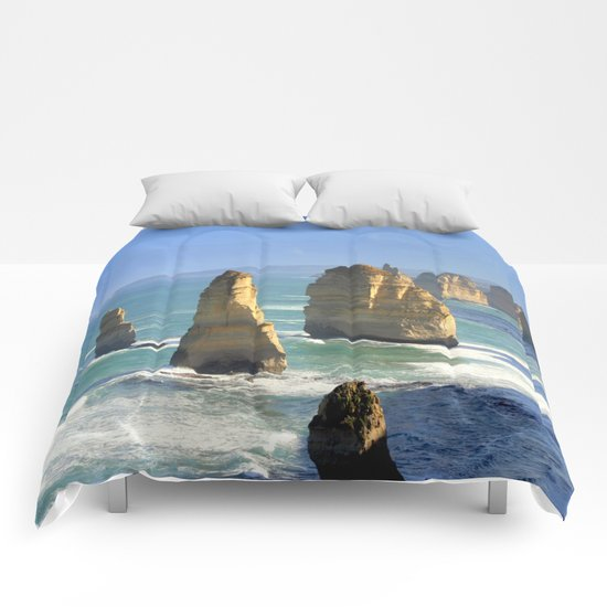 Rock Formations Comforters