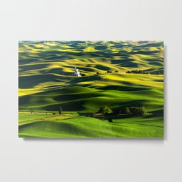 The Granary Metal Print