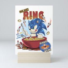 Sonic cereal Mini Art Print