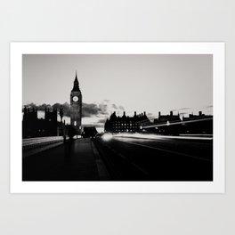 London noir ...  Art Print