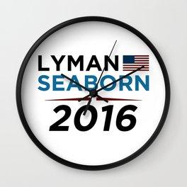Lyman Seaborn 2016 Wall Clock