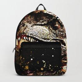 tyrannosaurus rex wssepia Backpack