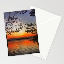 Evening view Stationery Cards