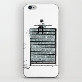 LITTLE DREAMS, BIG BOOKCASE iPhone Skin