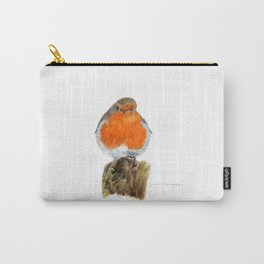 English Robin by Teresa Thompson Carry-All Pouch