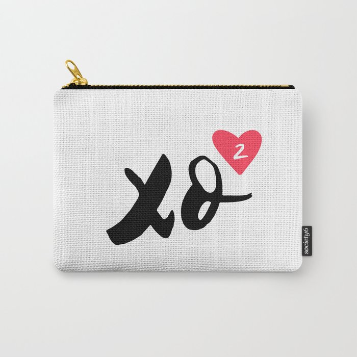 Hugs And Kisses x2 Carry-All Pouch