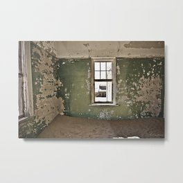 Abandoned house - Landscape Photography #Society6 Metal Print