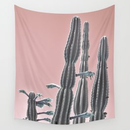 Cactus Bloom Wall Tapestry