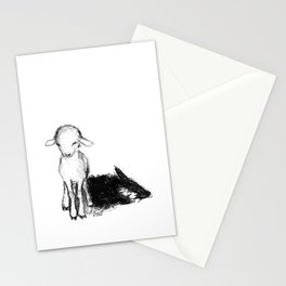 A Wolf In Sheep Clothing Stationery Cards