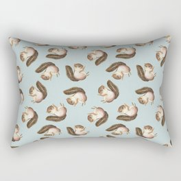 squirrel pattern Rectangular Pillow