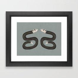 Sssymetry Framed Art Print