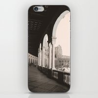 architecture iPhone & iPod Skins featuring architecture by Armine Nersisian