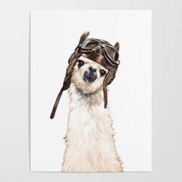 Pilot Llama Poster