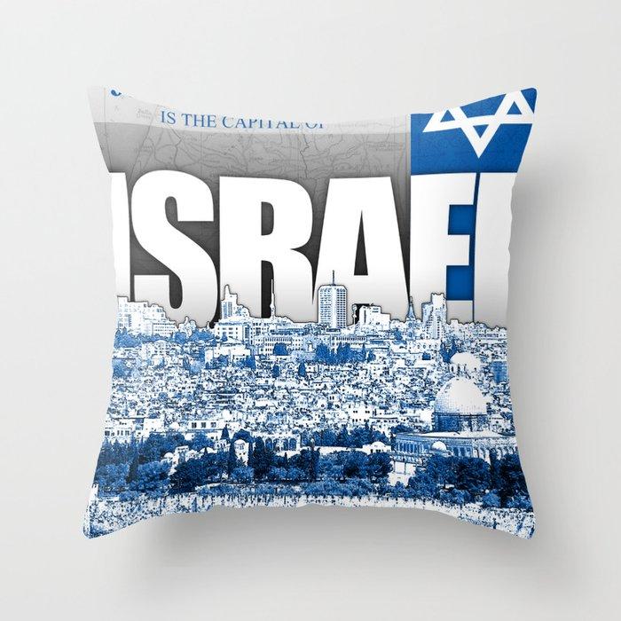 Jerusalem, Israel Throw Pillow
