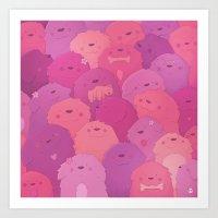 potato Art Prints featuring Potato Chips by Nandi Appleby